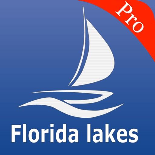 Florida lakes GPS Fishing charts Pro