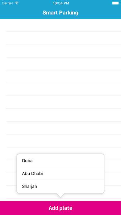 RTA Parking UAE (United Arab Emirates) screenshot two