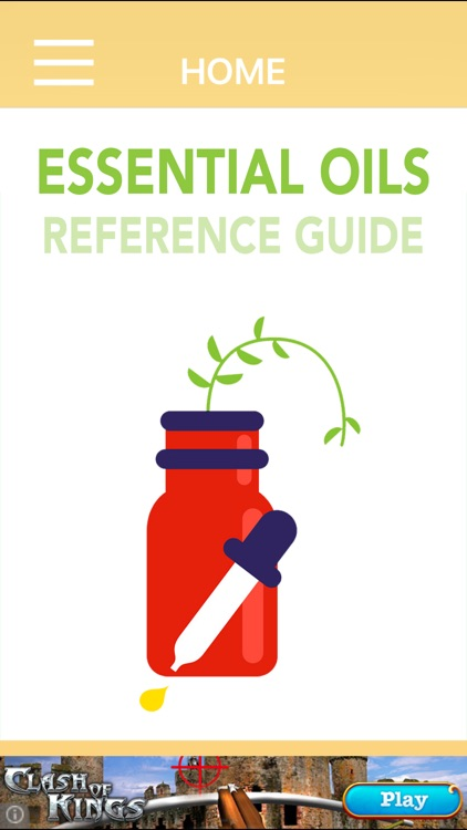 FREE Essential Oils Reference Guide