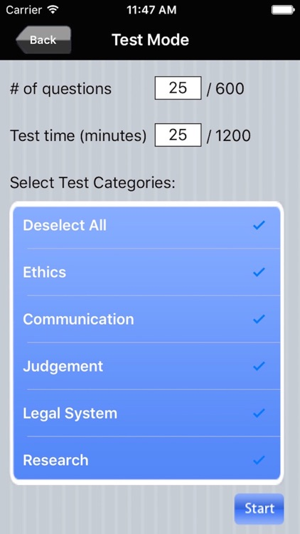 Paralegal Exam Prep screenshot-3