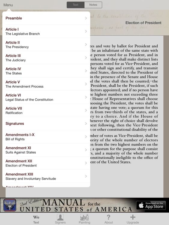 Constitution for iPad screenshot-2