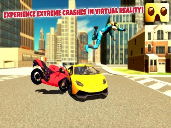 Screenshot #3 for VR Motorbike Simulator : VR Game for Google Cardboard