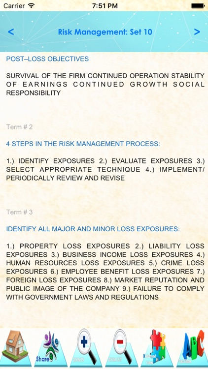 Risk Management: 2400 Study Notes, & Quizzes screenshot-3