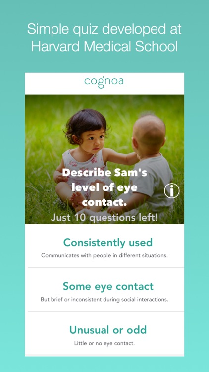 Cognoa: Child Development and Behavior Screening screenshot-4