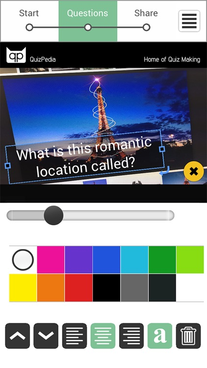 Quiz Creator - Take, Share and Publish Quizzes screenshot-3