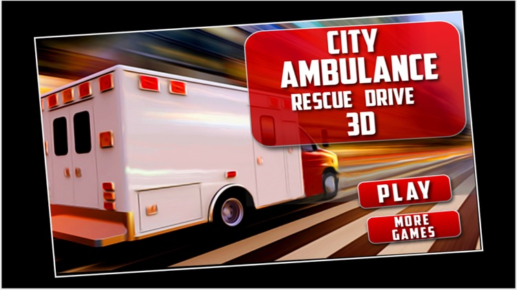 City Ambulance Rescue Drive 3D screenshot-0