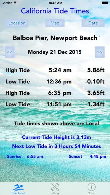 California Tide Times screenshot-4