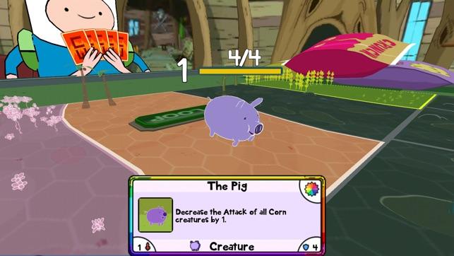 Guerra de Cartas - Hora de Aventura Screenshot