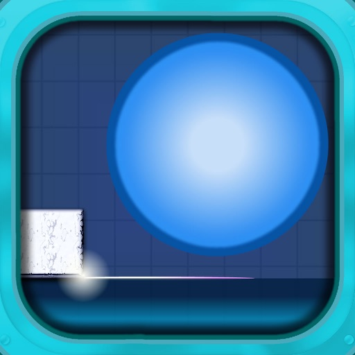 A Geometric Blue Ball icon