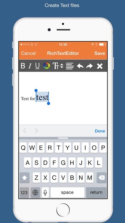 PDF Converter & Text Editor screenshot-3
