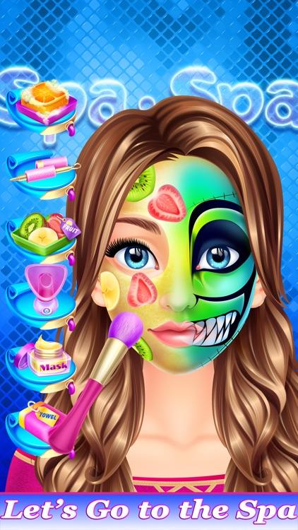 Crazy Face Paint Party Salon - Makeup & Kids Games screenshot-4
