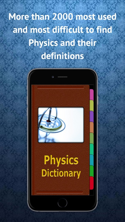 Physics Dictionary screenshot-0