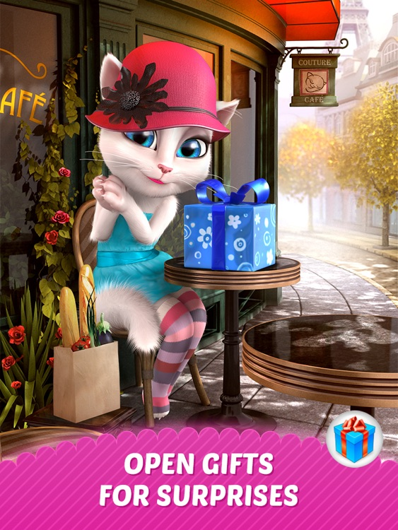 Talking Angela for iPad screenshot-0