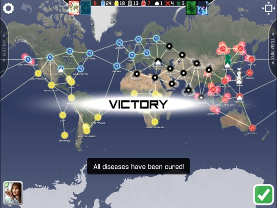 Screenshot #5 for Pandemic: The Board Game