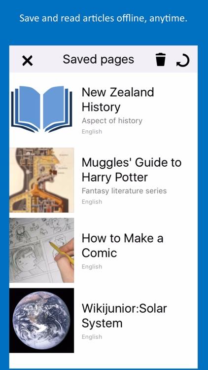 WikiSurfer for Wikibooks screenshot-4