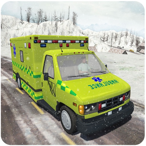 Snow Rescue 911 – An Emergency Ambulance driving Simulator iOS App