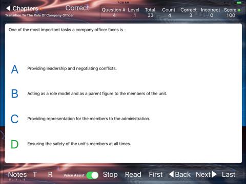 Company Officer 4 Study Helper - náhled