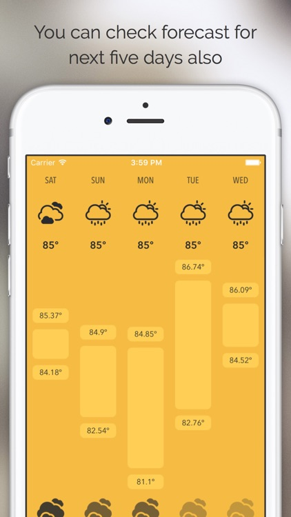 Meteo - Just Weather Forecast screenshot-4