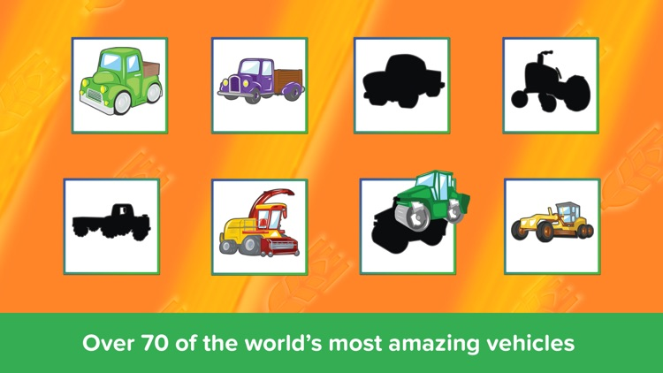 Kids Puzzles - Trucks Diggers and Shadows Lite - Early Learning Cars Shape Puzzles and Educational Games for Preschool Kids screenshot-4