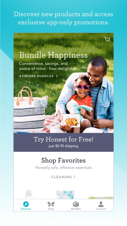 Honest App: Shop baby & diaper products
