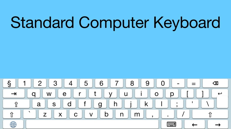 Standard Computer Keyboard screenshot-0