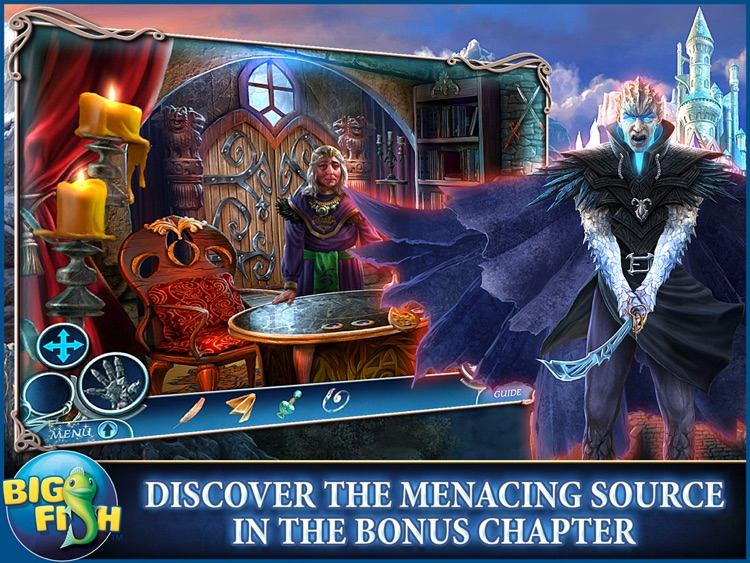 Dark Realm: Princess of Ice HD - A Mystery Hidden Object Game (Full) screenshot-3