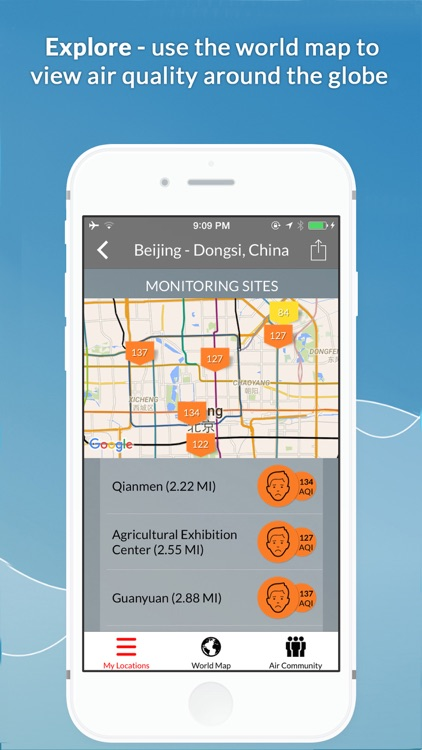 Global Air Quality Monitoring & Pollution Forecast PM2.5 AQI | AirVisual screenshot-3