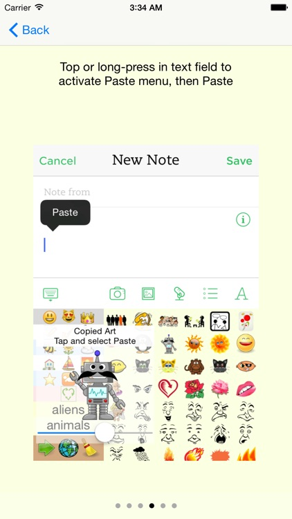 emOte Sticker Keyboard and Clipart screenshot-3