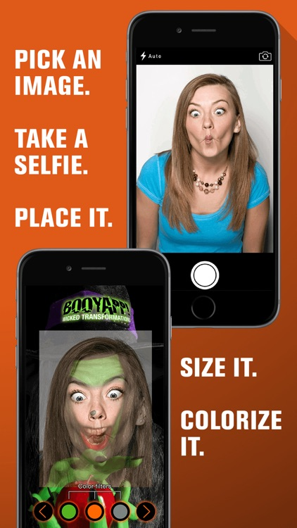 Halloween Photo Booth: Freaky Ghost Face Selfie Prank
