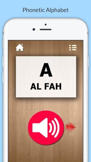 Nato phonetic alphabet for amateur radio on the app store altavistaventures Image collections