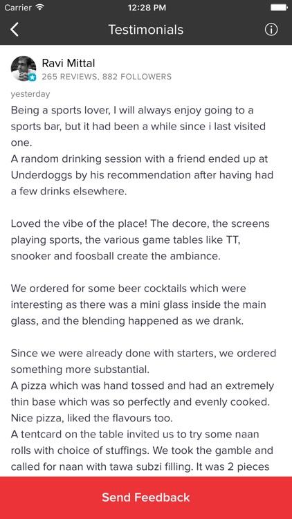 Underdoggs Sports Bar & Grill screenshot-3