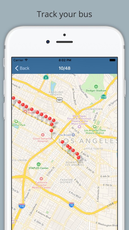 LA Lurking - Los Angeles Bus Tracker