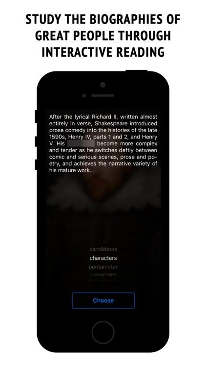 Shakespeare - interactive book