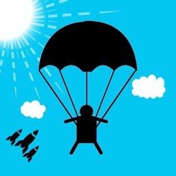 Parachute Rescue - Jump and Fly & Fall Down Funny Game