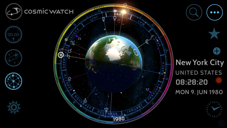 Cosmic-Watch screenshot-3