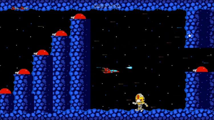 Super Arcade Boy in Defender of Planet Earth screenshot-1