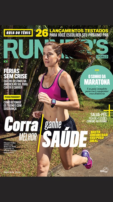 Runner's World Brasil screenshot1