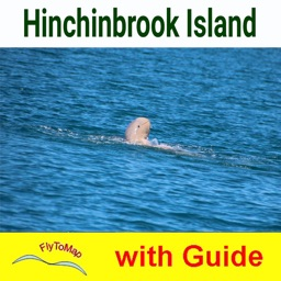 Hinchinbrook Island National Park-GPS and outdoor map with guide