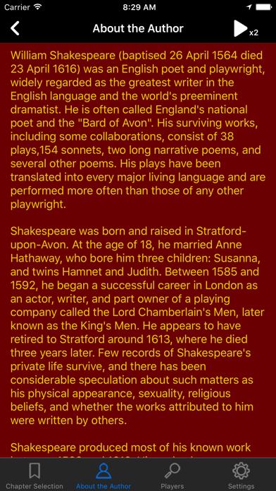 Shakespeare: Romeo and Juliet screenshot four