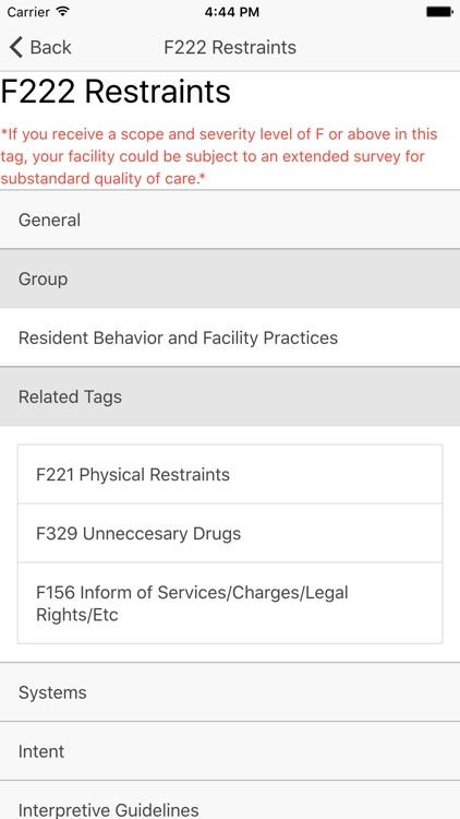 LTC SOM Regs screenshot-3