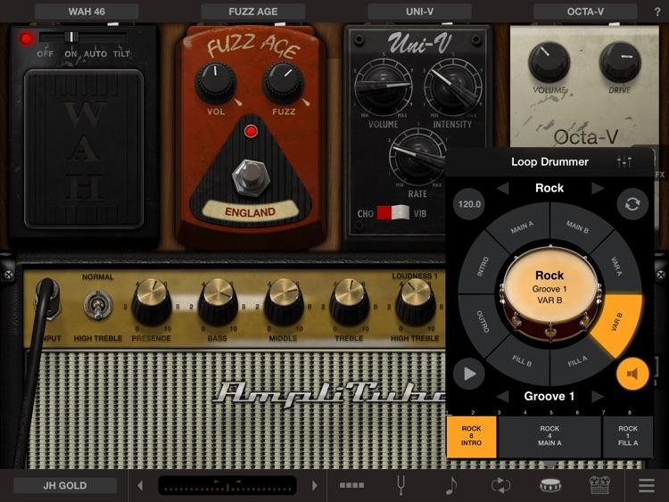 AmpliTube Hendrix™ for iPad screenshot-3