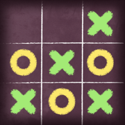 Tic Tac Toe Free Glow - 2 player online multiplayer board game with friends