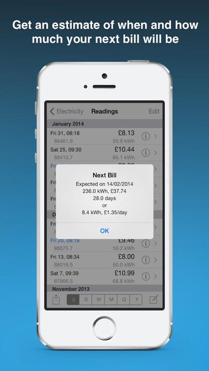 Meter Readings screenshot-4