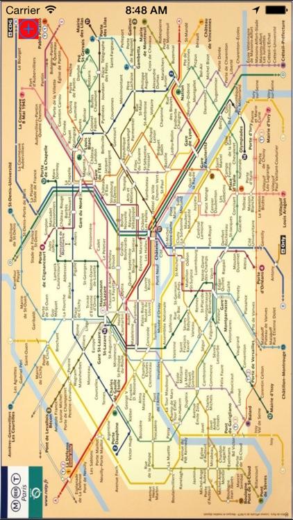 me 2 metro Paris underground screenshot-3