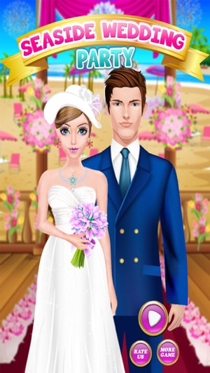 Seaside Wedding Party Makeover Dress Up Salon Girls Game On The App Store