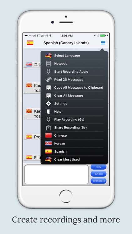 mText2Speech Translator screenshot-3