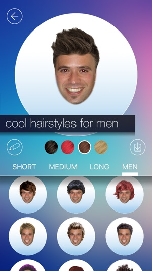 Hair makeover new hairstyle and haircut in a minute on the app store hair makeover new hairstyle and haircut in a minute on the app store solutioingenieria Images