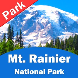 Mount Rainier National Park – GPS Offline Map Navigator