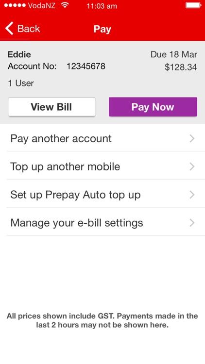 My Vodafone New Zealand screenshot-4