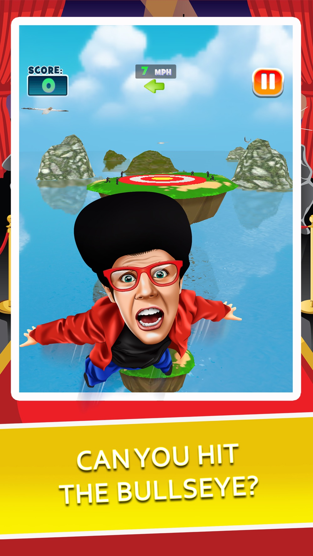 Toss the Celebrity – Fun Jumping Simulator & Jump Hoverboard Racing Games!